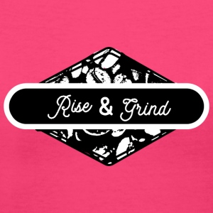 Rise and Grind - Women's V-Neck T-Shirt