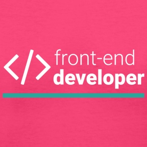Front End Developer T Shirt - Women's V-Neck T-Shirt