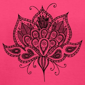 Lotus flower - Women's V-Neck T-Shirt