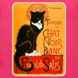 Tuxedo Chat Noir Poster - Women's V-Neck T-Shirt