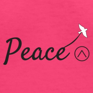 Peace - Women's V-Neck T-Shirt