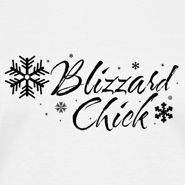 Blizzard Chick black logo
