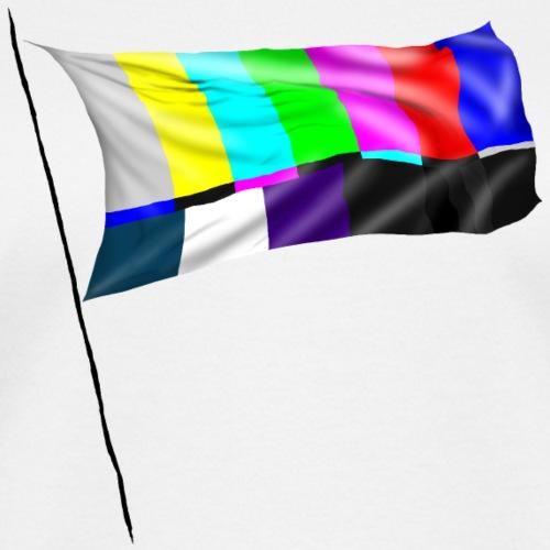 Colorbars drapeau - Women's V-Neck T-Shirt