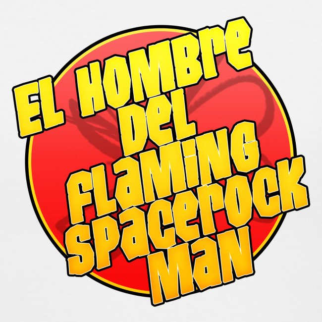 el hombre del flaming spacerock man
