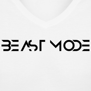Beast | Gym Outfit - Women's V-Neck T-Shirt
