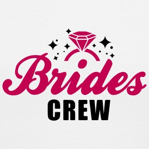 Brides Crew - bachelorette party - hen Night - T-shirt avec encolure en V pour femmes