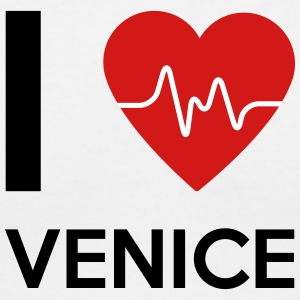I Love Venice - Women's V-Neck T-Shirt