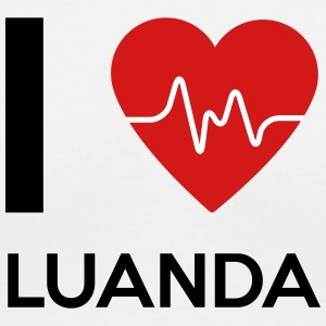 I Love Luanda - Women's V-Neck T-Shirt