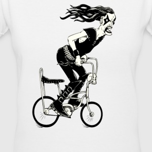 Metal to the Pedal - Women's V-Neck T-Shirt