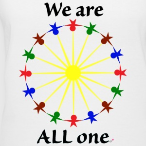 We are ALL One - Women's V-Neck T-Shirt