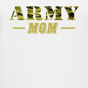 Army Mom - Proud Army Mom T-Shirt - Women's V-Neck T-Shirt