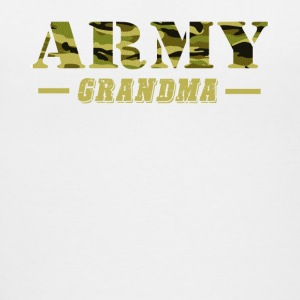 Army Grandma - Proud Army Grandma T-Shirt - Women's V-Neck T-Shirt