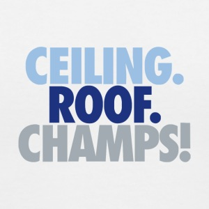 Ceiling roof champs - Women's V-Neck T-Shirt