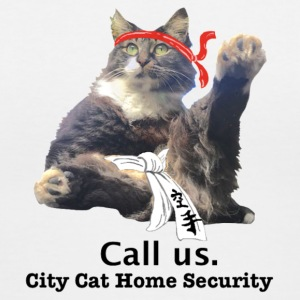 City Cat Security - Women's V-Neck T-Shirt