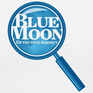 Blue Moon Detective Agency - Women's V-Neck T-Shirt
