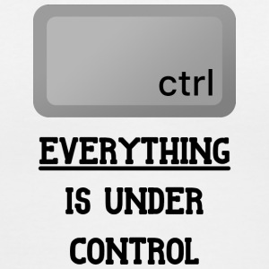 Everything is under Ctrl T Shirt - Women's V-Neck T-Shirt