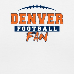 Denver Football Fan - Women's V-Neck T-Shirt