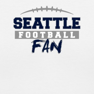 Seattle Football Fan - Women's V-Neck T-Shirt