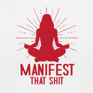 Manifest That Shit - Women's V-Neck T-Shirt