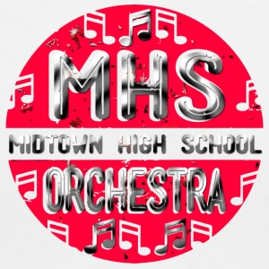 MHS Midtown High School Orchestra - Women's V-Neck T-Shirt