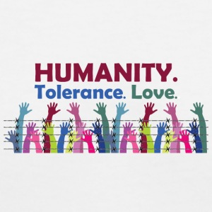 Humanity - Women's V-Neck T-Shirt