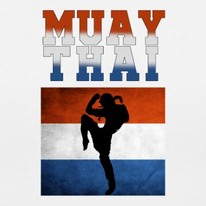 Muay_Thai_netherlands - Women's V-Neck T-Shirt