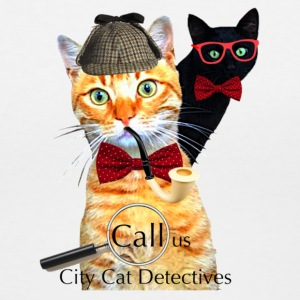 City Cat Detectives - Women's V-Neck T-Shirt