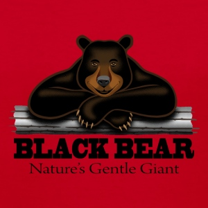 Black Bear: Nature's Gentle Giant - Women's V-Neck T-Shirt