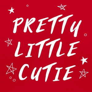 PRETTY LITTLE CUTIE - Women's V-Neck T-Shirt