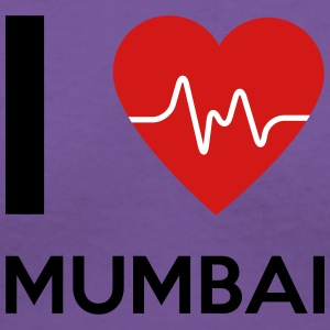I Love Mumbai - Women's V-Neck T-Shirt