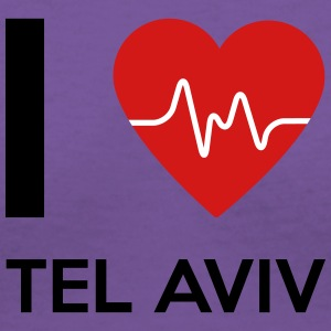 I Love Tel Aviv - Women's V-Neck T-Shirt