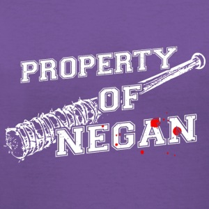 Property of Negan T Shirt - Women's V-Neck T-Shirt