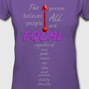 Equal - Women's V-Neck T-Shirt