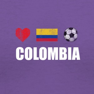 Colombia Football Colombian Soccer T-shirt - Women's V-Neck T-Shirt