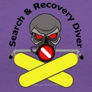 Search And Recovery Diver - Women's V-Neck T-Shirt