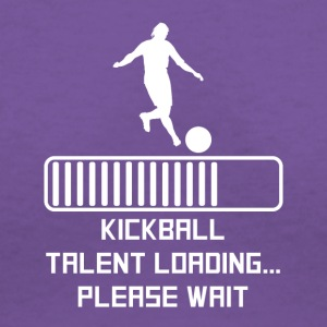 Kickball Talent Loading - Women's V-Neck T-Shirt