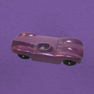 PURPLE DIECAST CONCEPT RACER - Women's V-Neck T-Shirt