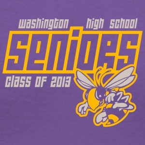 Washington High School Seniors Hornets - Women's V-Neck T-Shirt