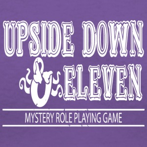 Upside Down and Eleven - Women's V-Neck T-Shirt