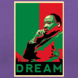 MLK - Women's V-Neck T-Shirt