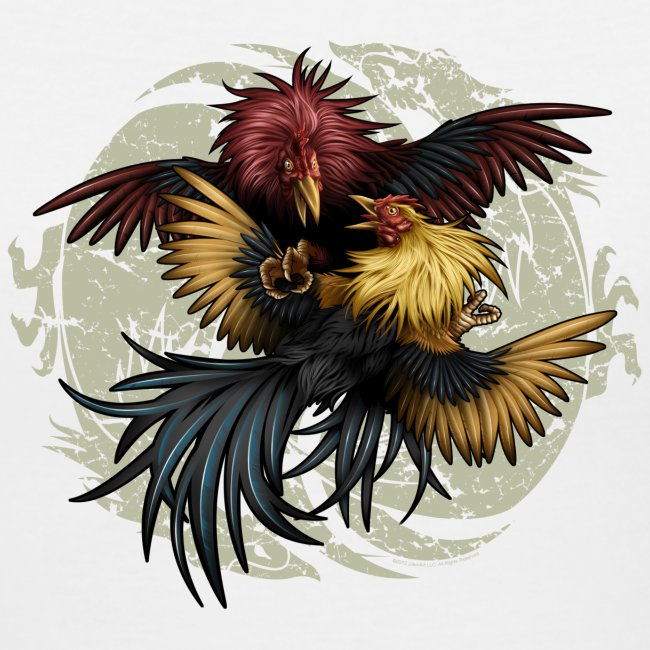 Ying Yang Gallos by Rollinlow