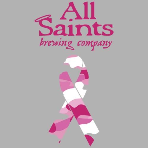 Real Men Wear Pink - Cancer Awarness - Women's V-Neck T-Shirt