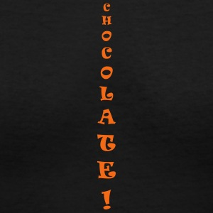 chocolate only - Women's V-Neck T-Shirt