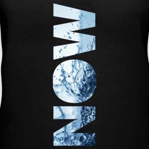 NOWwaterplanet - Women's V-Neck T-Shirt