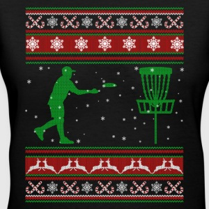 Ultimate Frisbee Christmas Shirt - Women's V-Neck T-Shirt