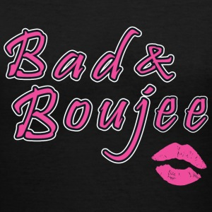 Bad And Boujee - Women's V-Neck T-Shirt
