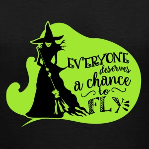 Wicked Musical Quote. - Women's V-Neck T-Shirt