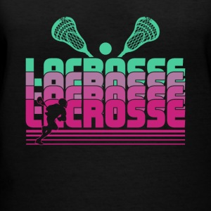 Lacrosse Shirt - Women's V-Neck T-Shirt