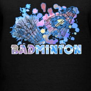 BADMINTON TEE SHIRT - Women's V-Neck T-Shirt