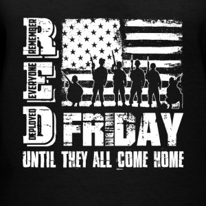 Red Friday Tee Shirts - Women's V-Neck T-Shirt